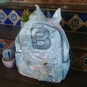 Justice B backpack.